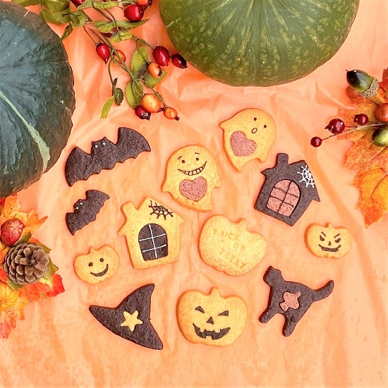 Assorted cookies for Halloween5枚<br>ハロウィーンアソートクッキー5枚入り