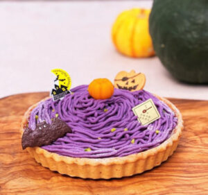 La tarte au potiron<br>カボチャのタルトHalloween ver.